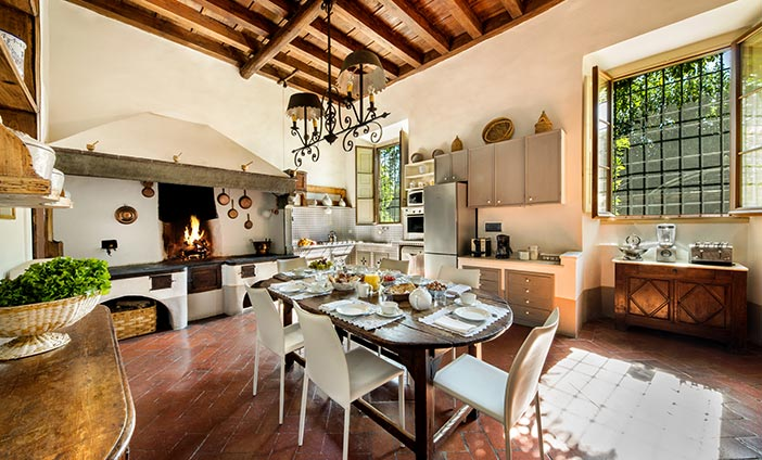 Exclusive Villa in Florence, Tuscany - The Kitchen