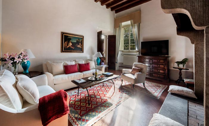 Exclusive Villa in Florence, Tuscany - Living Rooms