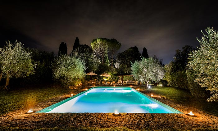 Exclusive Villa in Florence, Tuscany - Our Park & the Pool
