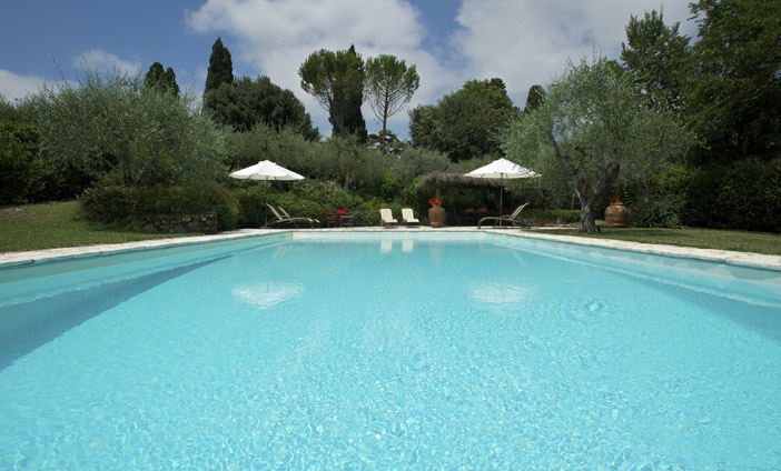 Exclusive Villa in Florence, Tuscany - Our Park & the Poo